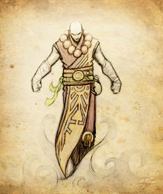 DnD Character - Monk by Reganov.deviantart.com on @deviantART