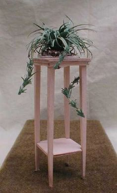 how to: plant stand