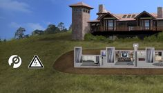 Lol!! ZOMBIE SURVIVAL LOCATIONS - Bunkers - Advantages: Highly ... on above ground survivalist compound design, military compound design, self-sufficient compound design, prepper compound design,