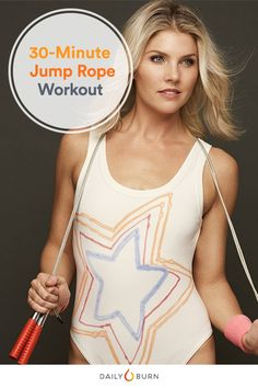 The HIIT Jump Rope Workout for Cardio Conditioning Jumpstart your usual HIIT routine with this jump rope workout. You'll hit cardio, strength, endurance and agility — all in one. via Daily Burn Fat Burning Cardio Workout, Hit Cardio, Cardio Workouts, Body Workouts, Hiit Session, Routine, Jump Rope Workout, Daily Burn, Skipping Rope