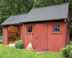 Simple Yard Shed Plans | Building an Outdoor Wood Storage Shed