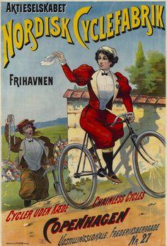 Nordisk Cyclefabrik ~ Anonym | #Bicycles #Nordisk #Cyklar