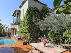 Open House Obsession: Classic Old Hollywood Above Sunset Boulevard, $2.995M | California Home + Design