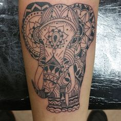 A little #Polynesian styled #elephant #tattoo #tattoosforgirls #polynesiantattoo #blackwork #cute #instagood @darksidetattoostudio @starbritecolors @cheyennetattooequipment @truetubes @truegrips @criticaltattoo Www.darksidetattoo.com