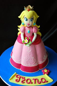 Princess Peach cake... Um, Jane would lose her mind.