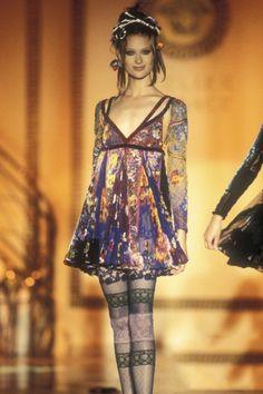 "phillipkdexter: ""Shalom Harlow, Atelier Versace f/w 1993 Haute Couture """