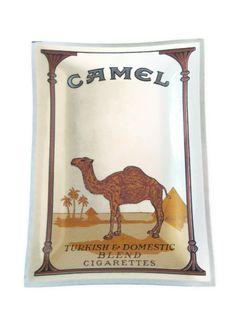 Vintage Camel Cigarettes Tray Camel Cigarettes by PhotosPast