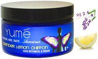 Lavender Lemon 4oz by Yume Blush.  great for strech marks, eczema, or massage.