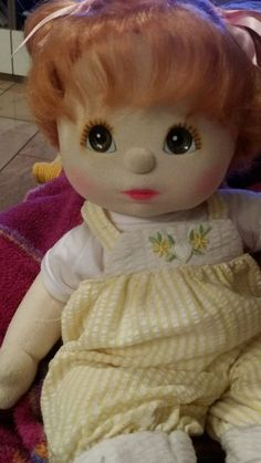 My child doll...red head