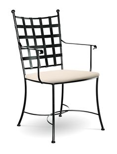 Etrusche Arm Chair By Charleston Forge  Made in USA http://www.charlestonforge.com/chairs/C504_Etrusche_Arm_Chair