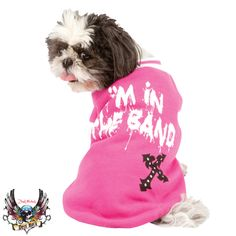 Bret Michaels Pets Rock Pink In the Band Sweater  -  www.charlesandchubs.com