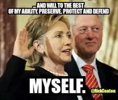 Hillary Clinton was practicing her oath of office today...   #WakeUpAmerica #OhHillNo #UniteBlue @HillaryClinton