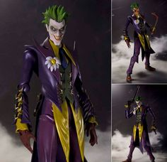 S.H.Figuarts Joker Batman Injustice Ver Gods Among Us Anime Figure Bandai Japan Now available at Figure Central (^o^)