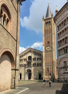 Emilia Romagna Parma Piazza del Duomo