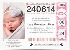 Contemporáneo - Invitaciones de Bautizo personalizadas