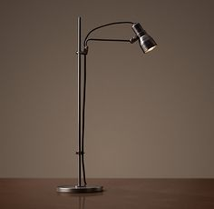 "Vintage Sewing Task Lamp - Bronze - Bedside;  Either 16""H or 24""H"