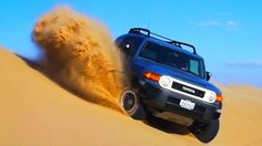 Wind, Sand & Fire: 2014 #Toyota #FJCruiser Takes A Last Desert Ride! [Epic Drives Episode 27]