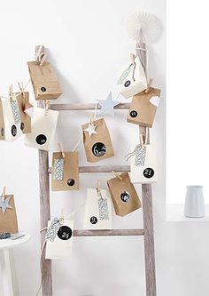 Cukroví, výzdoba a nábytek v době adventu – v Tchibo Christmas Calendar, Christmas Diy, Xmas, Little Boxes, Repurposed, Diy And Crafts, Gift Wrapping, Etsy, Holiday Decor
