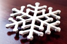 Old Town Imports Aluminum Serveware Snowflake Trivet {PRESALE ONLY}. $9.99 regularly $17.99
