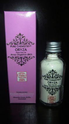 ORYZA Polvo Fino de Arroz Orgánico Puro.  Certificado Natural y Orgánico por Ecocert Piel Natural, Shampoo, Personal Care, Bottle, Fitness, Beauty, Certificate, Skin Care, Fat