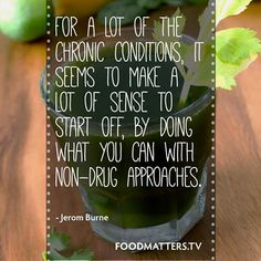 This Should Be The First Step...   www.foodmatters.tv