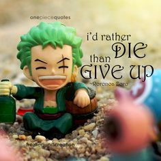 One Piece Quote - Roronoa Zoro by froztlegend on DeviantArt