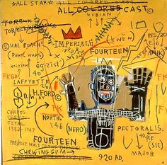 Jean-Michel Basquiat Rugs / Area Rugs : More At FOSTERGINGER @ Pinterest