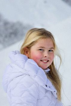 Crown Princess Catharina-Amalia of The Netherlands during their wintersport holiday in Lech am Arlberg, Austria, 17.02.14.