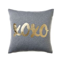 Jersey Metallic Cushion