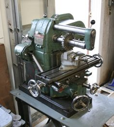 Atlas benchtop horizontal milling machine.