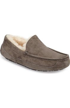 7387e17102e UGG®  Ascot  Suede Slipper (Men) available at  Nordstrom FOR MARK