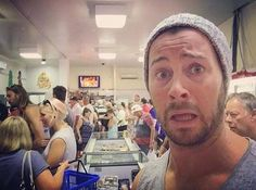 Daniel Feuerriegel - Craziness at the Seafood Market today. Holiday rush. Mmmm Prawns #australia #aussie #recharge #holidays #christmas #seafood #summer