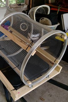 Gardening Compost how to build tools worm compost sifter assembled wire