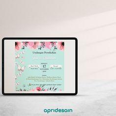 E Invitation Wedding, E Invite, Digital
