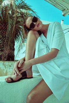 Frida Gustavsson By Andreas Sjodin For Elle Sweden July 2015