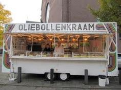 Oliebollen en appelflappen food truck! We need this at the county fair!! :)