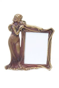 Your place to buy and sell all things handmade Old Picture Frames, W 6, Picture Sizes, Portrait Photo, Fashion Pictures, Art Deco Fashion, Decoration, Family Portraits, Brass
