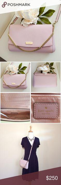 Spotted while shopping on Poshmark: ✨NEW✨KATE SPADE ♠️ Crossbody Pink Leather Purse! #poshmark #fashion #shopping #style #Kate Spade #Handbags