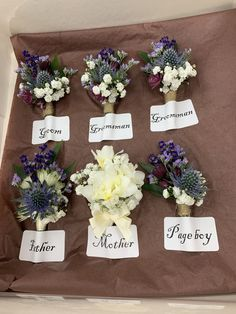 Boutonnieres, Groomsmen, Floral Wreath, Wreaths, Home Decor, Room Decor, Garlands, Home Interior Design, Decoration Home