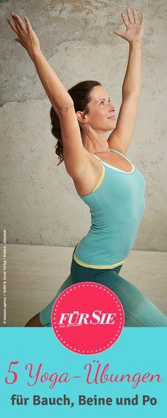 Yoga für Bauch, Beine und Po verhilft nicht nur zu einer schlankeren Taille, es stärkt zusätzlich Körpergefühl und Selbstbewusstsein.