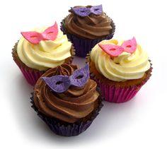 masquerade theme cupcakes