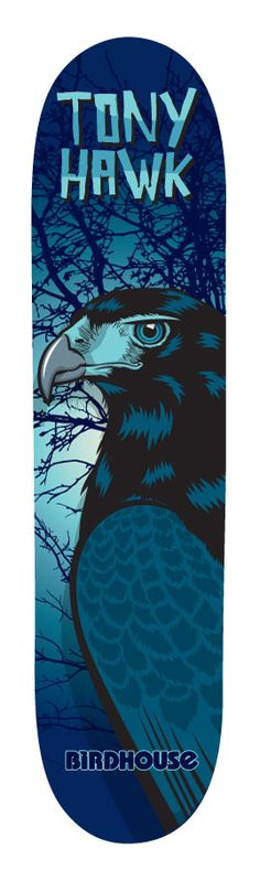"""Tony Hawk- """"Hawk that never was""""  REALLY WANT THIS DECK. Brings back childhood memories"""