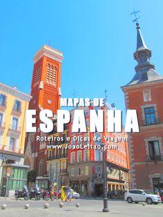 Mapas de Espanha