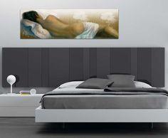 Cuadro de desnudo para dormitorio. Desnudo moderno impreso en lienzo, cuadro ideal para dormitorios