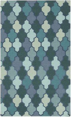 Surya NIA7000 Nia Hand Woven 10% Chenille 90% Wool Rug 8 x 11 Rectangle Home Decor Rugs Rugs
