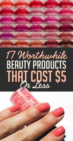 17 Incredible Beauty Products That Cost Less Than $5