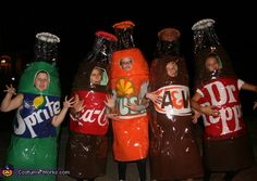 This homemade costume for groups entered our 2011 Halloween Costume Contest. Food Costumes, Best Friend Halloween Costumes, Homemade Halloween Costumes, Halloween Costume Contest, Cute Costumes, Group Costumes, Creative Halloween Costumes, Halloween Fun, Costume Ideas