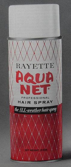I always used the pink and white can...all through High School!!! Couldn't live without it!!! lol