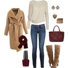 Wouldn't do the coat, but love everything else