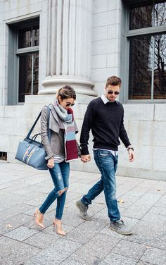 Cutest and most stylish couple Hello Fashion Blog, Mens Fashion Blog, Ladies Fashion, Style Fashion, Fashion Tips, Fashion Trends, Couple Outfits, Casual Outfits, Fashion Outfits